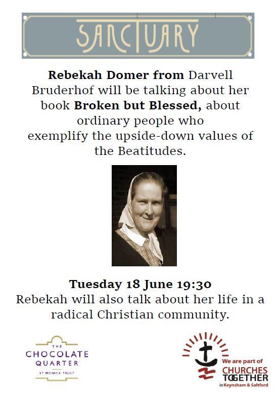Broken but Blessed' – talk in Keynsham – Bath Quakers