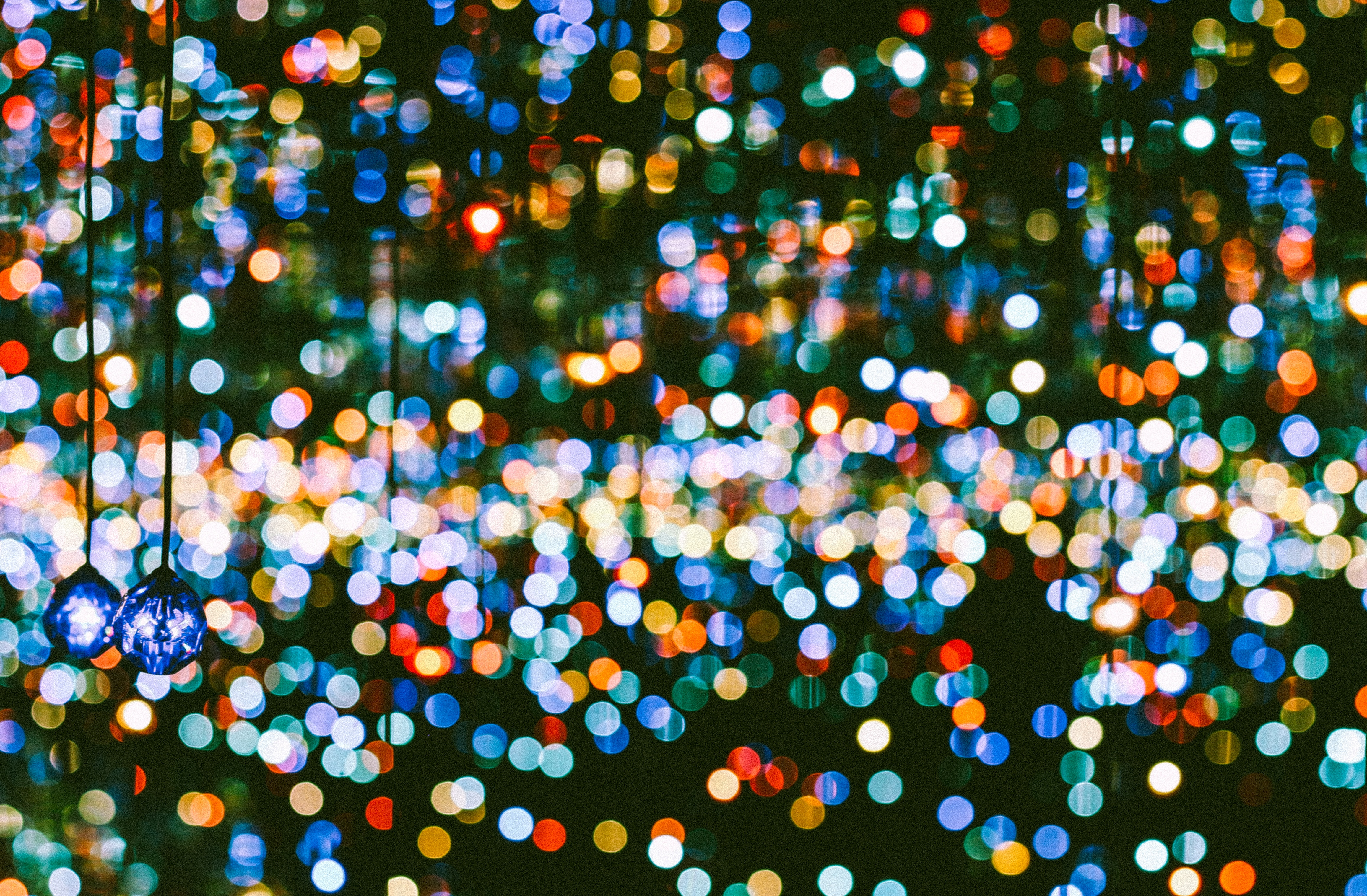 Image of multi coloured lights