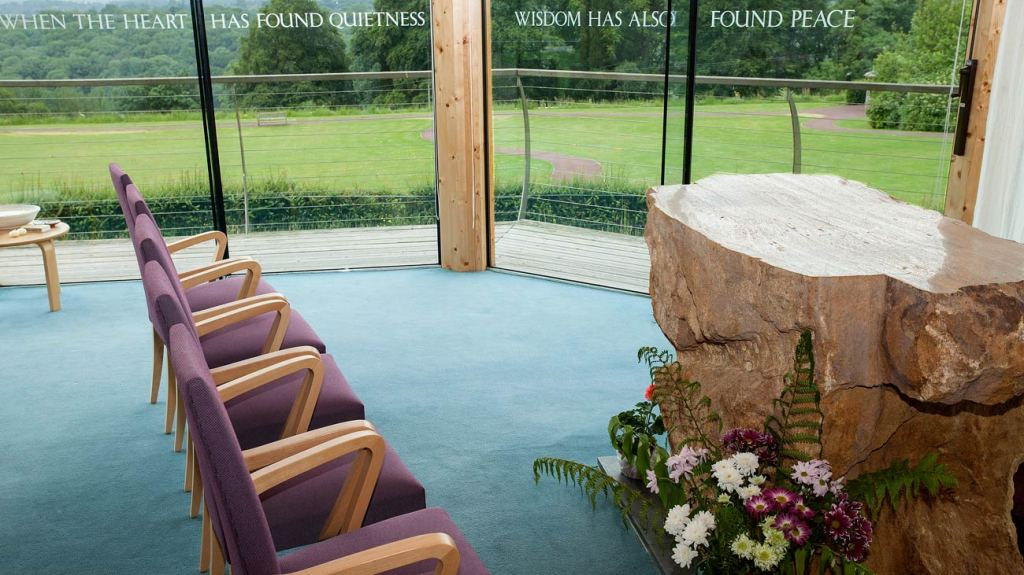 Chapel/Sanctuary at Dorothy House Hospice, Winsley